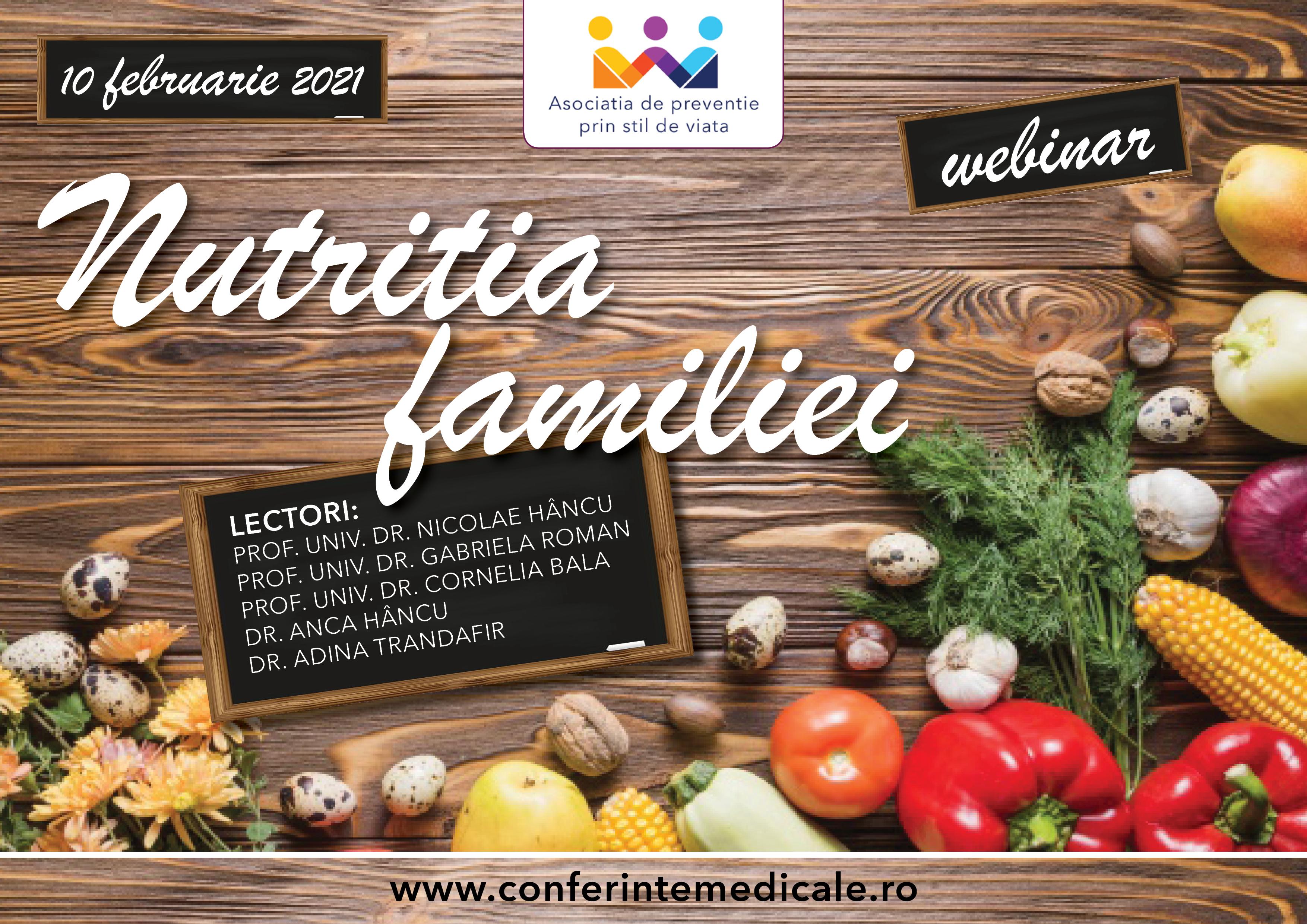 nutritia familiei